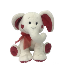 Plush Elephant Valentine `s Day
